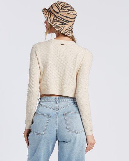 3 My Amor Sweater White ABJSW00100 Billabong