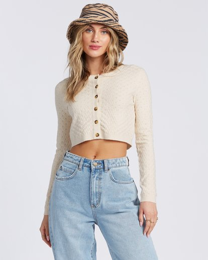 1 My Amor Sweater White ABJSW00100 Billabong