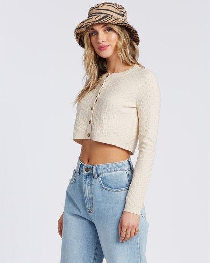 2 My Amor Sweater White ABJSW00100 Billabong