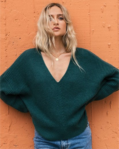 0 Its Me Sweater Green ABJSW00103 Billabong