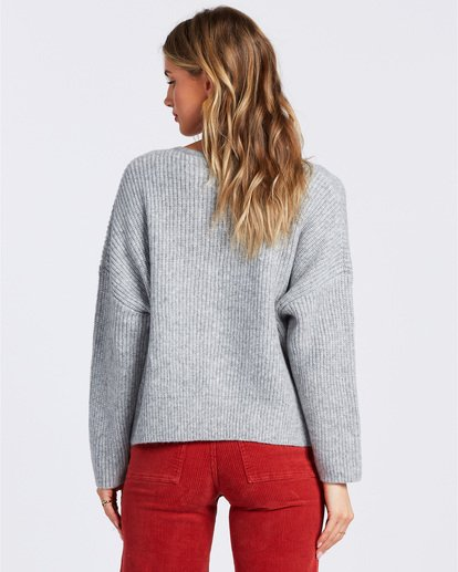 3 Its Me Sweater Grey ABJSW00103 Billabong