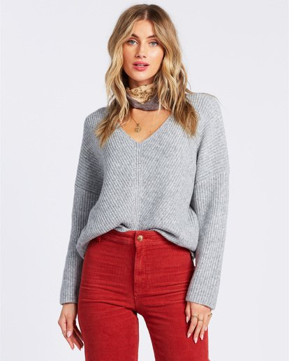 1 Its Me Sweater Grey ABJSW00103 Billabong