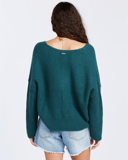 3 Its Me Sweater Green ABJSW00103 Billabong