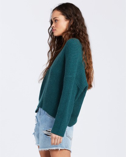 2 Its Me Sweater Green ABJSW00103 Billabong