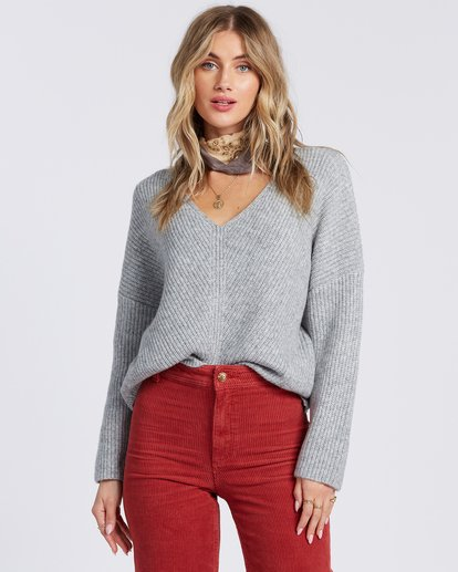 4 Its Me Sweater Grey ABJSW00103 Billabong