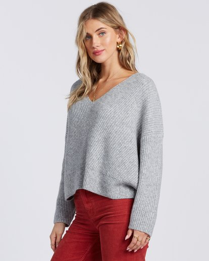 5 Its Me Sweater Grey ABJSW00103 Billabong
