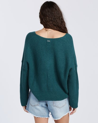 6 Its Me Sweater Green ABJSW00103 Billabong