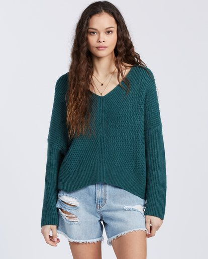 4 Its Me Sweater Green ABJSW00103 Billabong