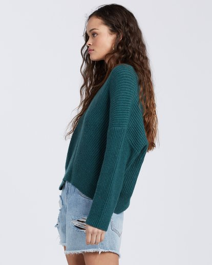 5 Its Me Sweater Green ABJSW00103 Billabong