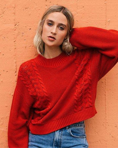 0 Great Escape Sweater Orange ABJSW00104 Billabong