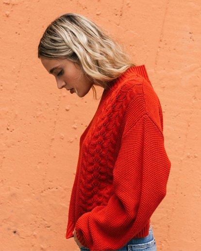 1 Great Escape Sweater Orange ABJSW00104 Billabong