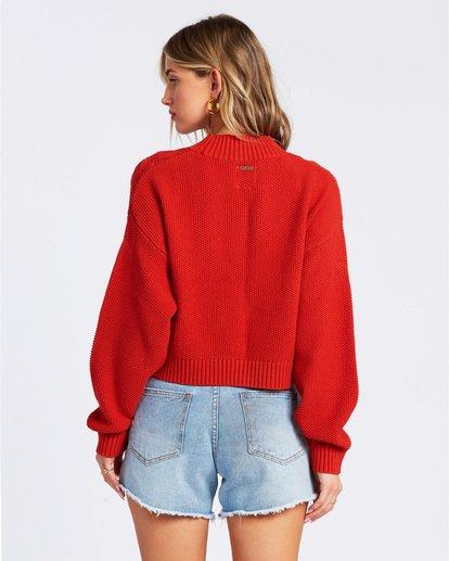4 Great Escape Sweater Orange ABJSW00104 Billabong