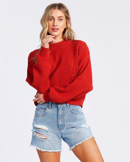 2 Great Escape Sweater Orange ABJSW00104 Billabong