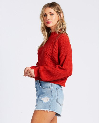 3 Great Escape Sweater Orange ABJSW00104 Billabong