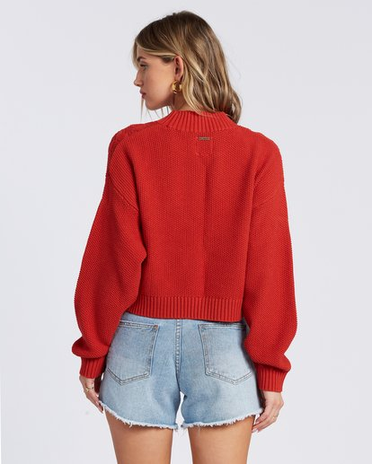 7 Great Escape Sweater Orange ABJSW00104 Billabong