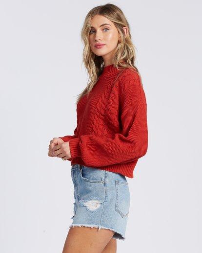 6 Great Escape Sweater Orange ABJSW00104 Billabong