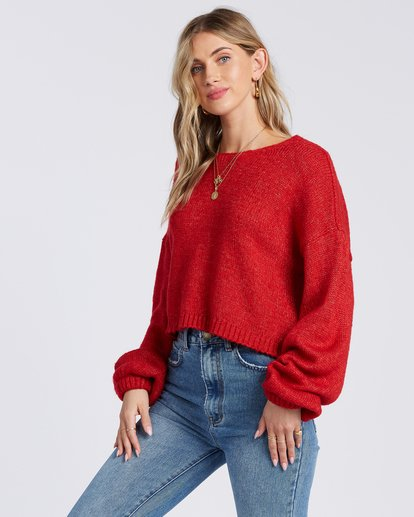 1 Heart To Heart Sweater Red ABJSW00110 Billabong