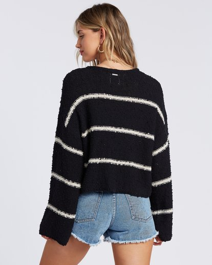 3 Lined Up Sweater Black ABJSW00111 Billabong