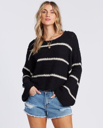 1 Lined Up Sweater Black ABJSW00111 Billabong