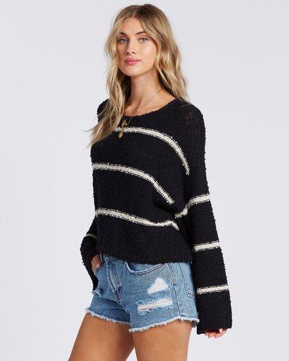 2 Lined Up Sweater Black ABJSW00111 Billabong