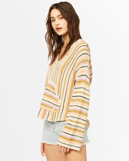 1 Baja Beach Hooded Sweater Green ABJSW00125 Billabong