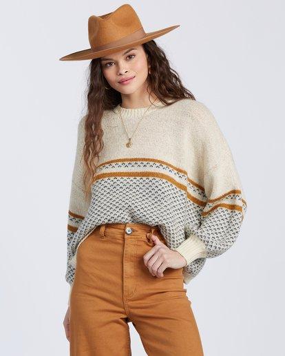 0 Wise Up Sweater White ABJSW00129 Billabong