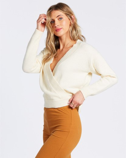 1 Carry On Sweater White ABJSW00131 Billabong