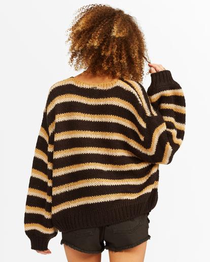 3 Laid Back Deep-V Sweater Black ABJSW00134 Billabong