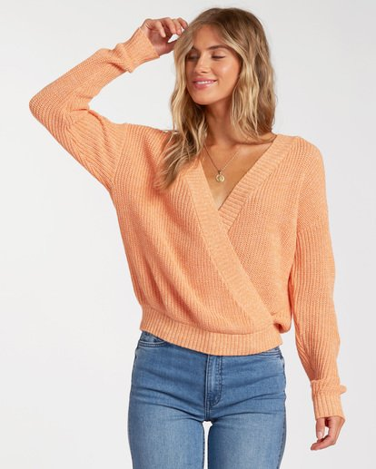 0 Bring It Sweater Red ABJSW00135 Billabong