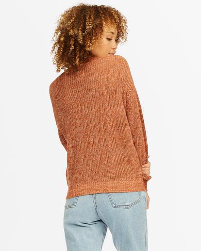 2 Bring It Cross-Wrap Sweater Brown ABJSW00135 Billabong