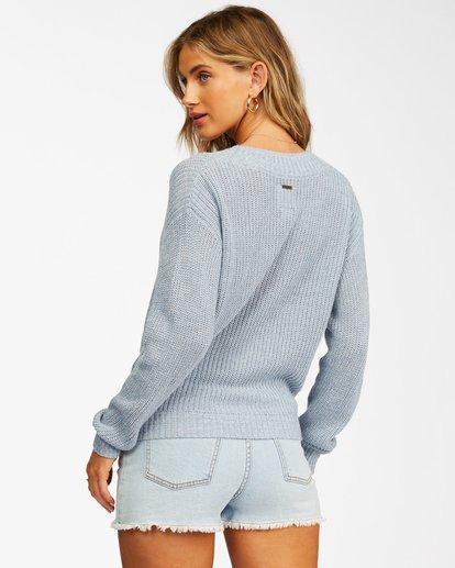 2 Bring It Cross-Wrap Sweater Black ABJSW00135 Billabong