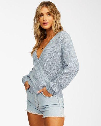 1 Bring It Cross-Wrap Sweater Black ABJSW00135 Billabong