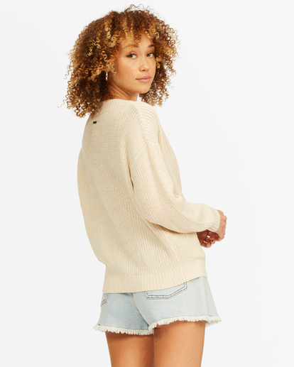 2 Bring It Sweater White ABJSW00135 Billabong