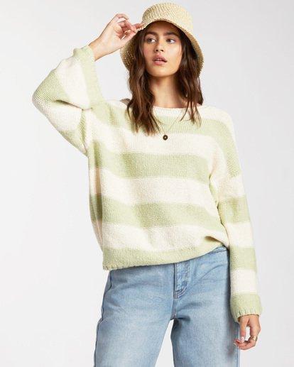 2 Lost Paradise Sweater Green ABJSW00141 Billabong