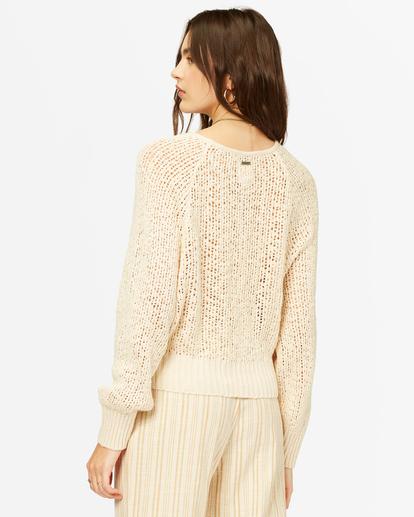 2 Sundown Relaxed Crewneck Sweater White ABJSW00151 Billabong