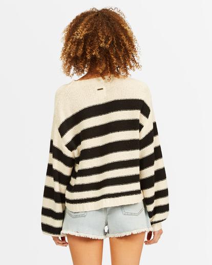 2 Seeing Double Crop Crewneck Sweater Black ABJSW00152 Billabong