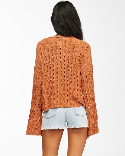 2 Good Luck Sweater Brown ABJSW00153 Billabong