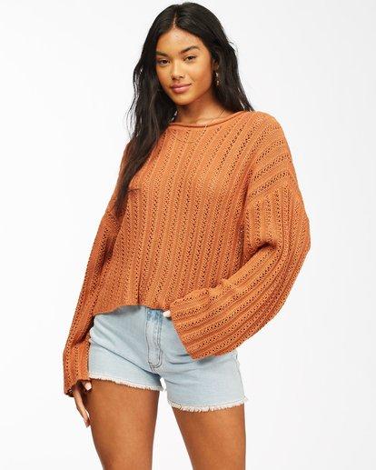 0 Good Luck Sweater Brown ABJSW00153 Billabong