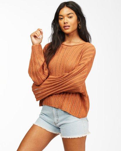 1 Good Luck Sweater Brown ABJSW00153 Billabong
