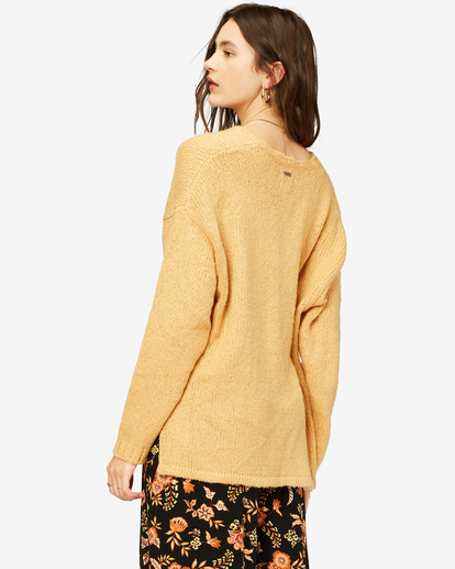 3 Tuned In Tunic Sweater White ABJSW00162 Billabong