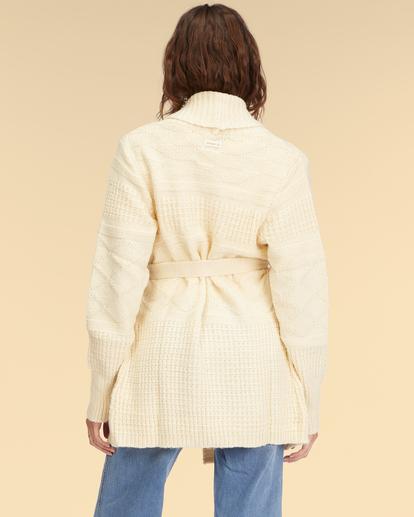 3 Wrangler Wrangled Up Sweater White ABJSW00170 Billabong