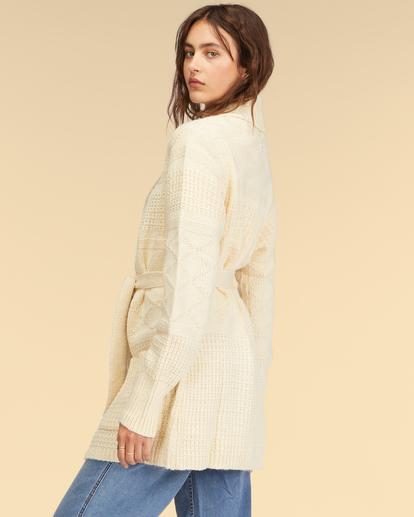 2 Wrangler Wrangled Up Sweater White ABJSW00170 Billabong