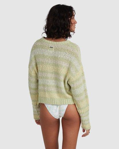 3 Easy Going Sweater Green ABJSW00181 Billabong
