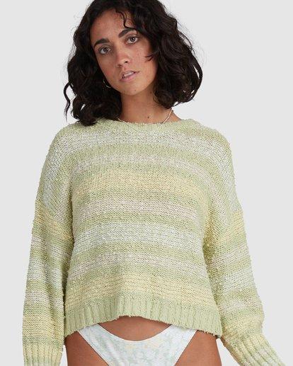 5 Easy Going Sweater Green ABJSW00181 Billabong