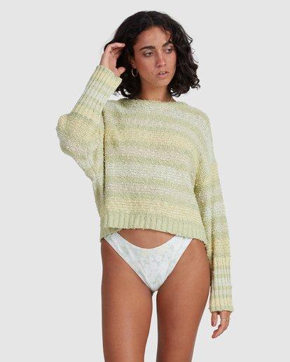 4 Easy Going Sweater Green ABJSW00181 Billabong
