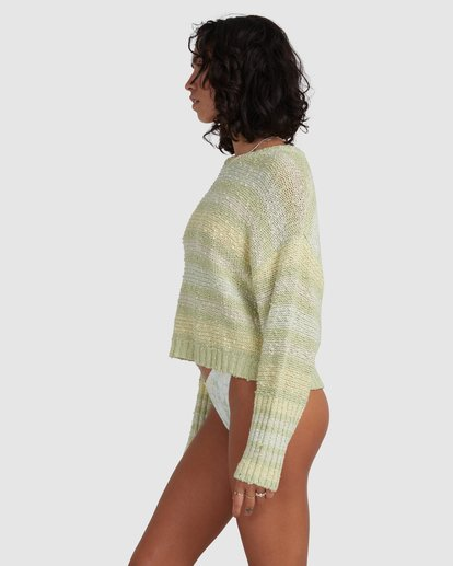 2 Easy Going Sweater Green ABJSW00181 Billabong