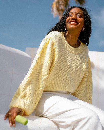 0 Honey Dew Sweater Yellow ABJSW00182 Billabong