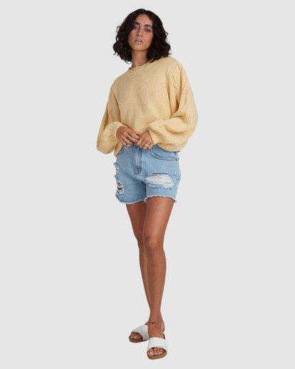 6 Honey Dew Sweater Yellow ABJSW00182 Billabong
