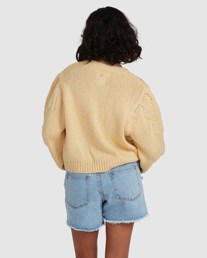 3 Honey Dew Sweater Yellow ABJSW00182 Billabong