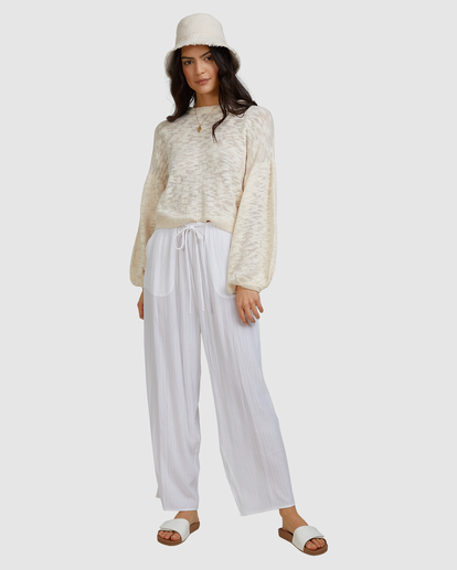 7 Sunray Sweater White ABJSW00190 Billabong